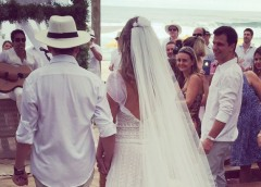 """O desafio do """"Look"""" em casamentos na praia!"""